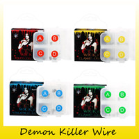 Wholesale Coil Wick Wire Atomizer - Authentic Demon Killer Flame Ni80 Wire Violence KA1 Coil Raging Fire Wick&Flame 316L Coil Wick Tank For RDA RTA RDTA Atomizer 100% Original