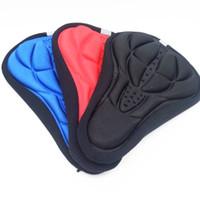 ingrosso vendita delle sella delle moto-vendita calda soft gel bicicletta / bici sedile / coprisella, colorato cuscino 3D Mountain Bike Saddle Cover