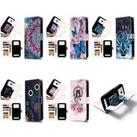 Wholesale wolf phone cases for sale – best Universal Owl Wolf Wallet PU Flip Leather Card Slot Case For To inch Mobile Phone iPhone Samsung LG HTC Nokia SONY Huawei XiaoMi