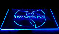 Wholesale neon sign bands - F1458 Wu-Tang-Band-Logo-Beer-Bar NEW 3D LED Neon Light Sign Retail and Dropshipping Wholes 8 colors Customize on Demand
