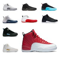 Wholesale Totem Gifts - Best winter god sneaker 12XI skill Royal Mens basketball shoes Taxi the master ovo white black good game 12s sneakers gift trainers knee