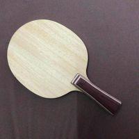Wholesale table tennis long pimple rubber resale online - 30271 FL Long Handle Table Tennis Blades Ping Pong Paddle Bat Table Tennis Racket Long Handle For Table Tennis Rubber