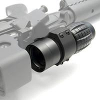 monture de loupe achat en gros de-WIPSON Optic sight 3X Magnifier Scope Lunettes de visée pour lunette de visée compactes avec couvercle rabattable, dignes d'un support pour fusil de carabine de 20 mm