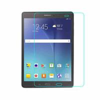 galaxie tablette s großhandel-Ultra Thin Tablet Gehärtetem Glas Für Galaxy Tab S T805 T700 Schutzglas Film Für Tab E T375 T560 4 T330 T230