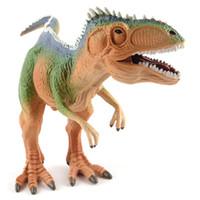 Wholesale rex dinosaur toy for sale - Group buy Cartoon Mini PVC Animal Model Set Jurassic World Realistic Animal Toys Model Figure Tyrannosaurus Rex T Rex Dinosaur Toys