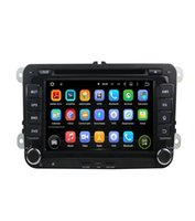 Wholesale Car Android Skoda - Car stereo player Android 8.0 8 Core 32G ROM Car DVD Player For Volkswagen Passat POLO GOLF Skoda Seat Leon With GPS Navi 4G LTE Network