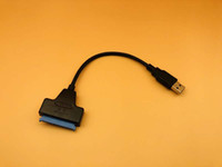 sdd sata iii toptan satış-USB 3.0 sata 3 kablo sata USB adaptöre kadar 6 Gbps desteği 2.5 inç harici SSD HDD sabit disk 22 pin III kablo