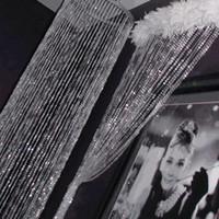 sarken çelenk toptan satış-30 metre / 99 feet / Rulo Parti Dekorasyon 10mm Akrilik Disk Boncuklu Yanardöner Gökkuşağı Kristal Garland Düğün Dekorasyon Için Tellerinin