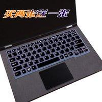 dizüstü bilgisayar klavye silikon koruyucusu toptan satış-Lenovo IdeaPad 100 s için 100 S-11 MIIX4 Yoga2 Flex3 700 K2450 K20-80 miix 700 flex3 11.6 11 inç Silikon Klavye Kapak Koruyucu