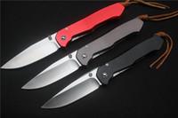 facas dobráveis frete grátis venda por atacado-Frete grátis, javali Lochsa facas D2 lâmina alça de Alumínio camping caça ao ar livre dobrável Facas Bolso EDC ferramentas