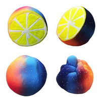 Wholesale lemon charms - Jumbo 12cm Sky Lemon Squishy Toy Squeeze Slow Rebound Decompression Toy Home Decor Phone Charms Pendant Kids Toys Gift