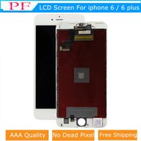 Wholesale cheap replacement parts - Cheap For iPhone 6 6 Plus LCD Display Touch Digitizer Black Grade A +++ Complete Screen with Frame Full Assembly Replacement Parts