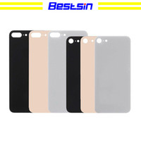 Wholesale Bestsin Glass Cover For Apple IPhone Plus Back Battery Cover Rear Door Housing iPhone8 Replacement Parts For iPhone Back Glass