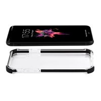Wholesale greaseproof cases for sale - Group buy Greaseproof Super Clear HD Transparent TPU Back Cover Case with Flexibility Shock Absorption Bumper Anti Fingerprints for iPhone X Goophone