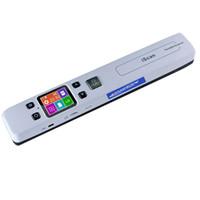 scanner de cartão usb portátil venda por atacado-KEMBONA Scanner Portátil de Alta Velocidade A4 Tamanho Scanner de Documentos 1050 DPI JPG / PDF Suporte 32G TF Cartão Mini Caneta