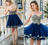 Wholesale printed plus size special occasion dresses online - Delicate Lace Sweetheart A line Homecoming Dress Sleeveless Special Occasion Dresses Short Party Gown Strapless Tiered Skirts Sweet