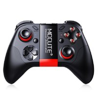 mini joystick pc großhandel-MOCUTE 054 Wireless Gamepad Bluetooth Gmae Controller Joystick Für Android / iSO Handys Mini Gamepad Für Tablet PC VR box Gläser