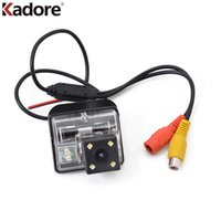 Wholesale Rear View Backup Camera Reviews - LED Light CCD Chip Car Vehicle Rearview Camera Backup Review Rear View Parking Reversing Camera For Mazda 6 Mazda6 2002-2008