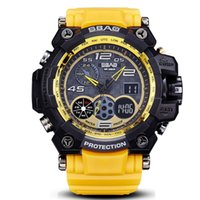 Wholesale dive watch men for military - Brand Luxury Men Digital Watch Designer Sport Women Diving LED Camping Waterproof Clock For Mens Watches Top Brand Military Wristwatches Box