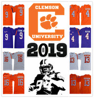 Wholesale clemson jersey deshaun watson resale online - 2019 NCAA Clemson Tigers College DeShaun Watson Mike Etienne JR JERSEY FOOTBALL RENFROW sports LAWRENCE shirts top sr