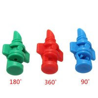 Wholesale Hose Nozzle Sprayer - 25x Nozzle Jet 90 180 360degree For Cloning Machine Hydroponic System Garden Watering Irrigation Hose Simple Micro Sprayer
