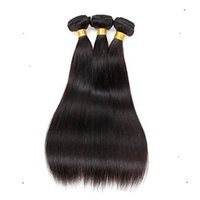 Wholesale discounted virgin remy hair online - Store discount Malaysian Virgin Straight Hair Extension Human Remy Hair Weaving a Unprocessed Double Weft Hair Extensions