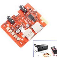 kit amplificador bluetooth al por mayor-¡Envío gratis! 1 pc / lot 5 V DIY Wireless Kit de placa de receptor de audio Bluetooth para audio automotriz con amplificador estéreo para auriculares adaptador USB