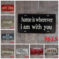 Wholesale Bronze Nautical - Store 30*15cm Tin Signs English Be Special Today Laugh Iron Painting You Are My Happy Ending Dream Tin Poster Creative 3 99lQ B