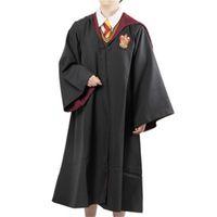Wholesale theme party supplies wholesale online - Harry Cos Cloak For Kids And Adult Mantle School Uniform Magic Robe Dress Smock Party Supplies Theme Costume Dress Comfortably jj jj