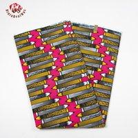 Wholesale Cheap Wax Print Fabric - 2017 New Cheap-Fabric Ankara African Real Wax Prints Fabric Cheap-Fabric Super Hollandais Wax High Quality African Fabric BRW096