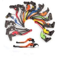 Wholesale aprilia clutch lever for sale - Group buy CNC Multicolour Folding Extendable Adjustable Brake Clutch Levers For Aprilia DORSODURO SHIVER GT