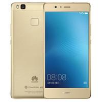 двухъядерный смартфон оптовых-Восстановленное в Исходном Huawei G9 P9 Lite Dual SIM 5.2 дюймов Octa Core 3 ГБ RAM 16 ГБ ROM 13MP Камера 4 Г LTE Смарт Мобильный Сотовый Телефон DHL