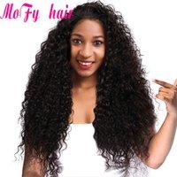 doğal renk brezilya kıvırcık saç toptan satış-8A Vizon Kinky Kıvırcık Remy Saç 3 Demetleri Derin Kıvırcık İnsan Saç 100% Brezilyalı Remy İnsan Saç Paketler Doğal Siyah Renk toptan