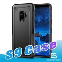 Wholesale Body Armor Protection - Hybrid 360 Full Body Coverage Drop Protection Rugged Armor Shockproof Cases for Iphone X Samsung Galaxy S9 J3 J5 J7 2017 Pro Prime Case
