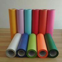 Wholesale heat label online - sheet quot x20 quot cmx50cm PVC Heat Transfer Vinyl T shirt Iron On HTV