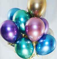 Wholesale wedding latex ballon for sale - Group buy Latex Ballon Pearl Multicolor Recyclable Balloons Birthday Party Wedding Supplies Party Decoration Wedding Supply Inches