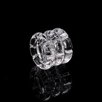 Wholesale bongs loops for sale - Group buy Quartz Diamond Knot insert Recycler banger insert For Loop Banger XL XXL Quarts Banger Nail Dab Rig Bong