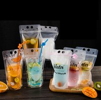 Wholesale other storage - DIY dirnk Self-sealed Plastic Beverage Bag printed Drink Container Bag Fruit Juice Self-sealed Storage bag FFA357 Other Kitchen Tools