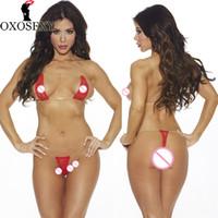 lingerie transparente vermelha venda por atacado-2017 nova tanga branca vermelha de três pontos de renda lingerie erótica Transparente exposto peito mulheres sexy lingerie trajes sexy hot 453