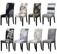 Wholesale Universal Cover Chair - Factory Direct Printing covers universal size Chair cover seat Chair Covers Protector Seat Slipcovers for Hotel banquet home wedding decorat