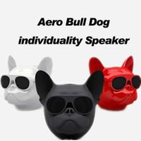 x mini-subwoofer-lautsprecher großhandel-Neue Mini Bluetooth Lautsprecher Jarre Aero Bull Nano Hund Drahtlose Lautsprecher Tragbare Stereo Subwoofer Freisprecheinrichtung AEROBULL für IPHONE 8 X