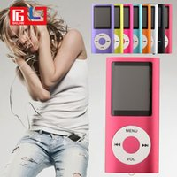 Wholesale Retail Sale Slim TH quot LCD MP4 Player Earphone MP4 Music Player Support GB GB GB GB TF Card Slot