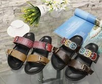 Wholesale animal print booties - New Fashion Women's Flats Casual sandals Beach slippers Shoes Brand woman Leather Sandals L054