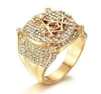 старинные модные кольца оптовых-Оптовая новые модные старинные роскошные масонские кольца с имитацией Алмаз хип-хоп мужские кольца для Бесплатная доставка
