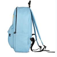 bolsos de estilo japonés al por mayor-Mochila de lona de las mujeres del estilo japonés lindo mochilas de impresión del perro estudiantes de la escuela secundaria bolso de hombro bolsa de viaje ocasional mochila