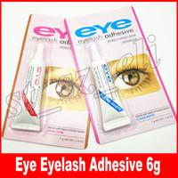 Wholesale eyelash adhesive black - Eye Lash Glue Black White Makeup Eyelash Adhesive Waterproof False Eyelashes Adhesives Glue White And Black Available