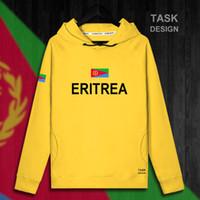 trajes de bandera al por mayor-Eritrea Eritrean ERI ER sudadera con capucha para hombre sudaderas con capucha sudaderas con capucha nuevos streetwear clothing Sportswear chándal bandera de la nación