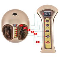 máquinas de terapia de infrarrojos al por mayor-Caliente ordenador basado en control remoto inalámbrico temporización terapia de infrarrojos masajeador de pies instrumento multifunción globo calentamiento máquina de pie