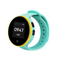 gps relógios de pulso venda por atacado-2017 Nova ZGPAX S668A Crianças relógio inteligente IP54 Waterproof GPS LSOs Relógio de pulso posicionamento 0 distância Criança Telefone assistir 9.13