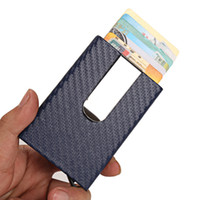 Wholesale stainless steel hanging pockets online - Metal Dollar Money Clip Aluminium Alloy Wallet Stainless Steel Hardware Wallets Multi Function Packet Mini Credit Card Holder Pocket xr gg
